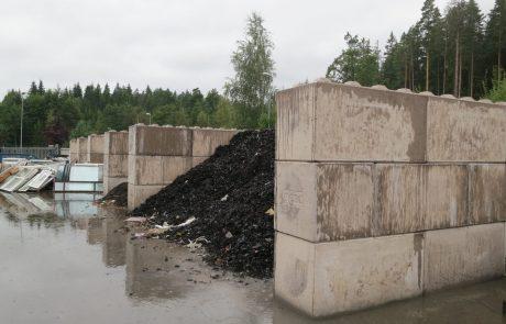 Kierrätysmateriaalien erottelu