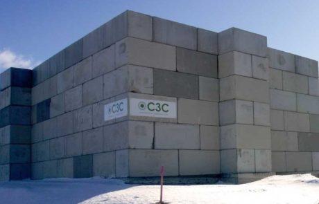 C3C-tukimuuri kierrätyslaitos jätteenkäsittelylaitos